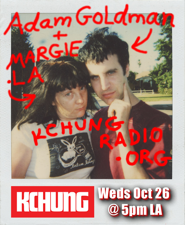 Adam Goldman Music Art Folchen Margie Schnibbe KCHUNG radio